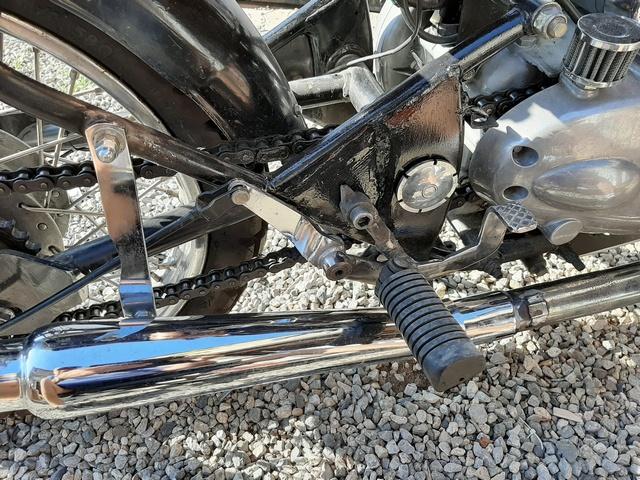 [RESOLU] Déplacer la pédale de frein arrière sur mon bobber+ commande reculée sélecteur tout le déroulé de la modiff....... 20200438