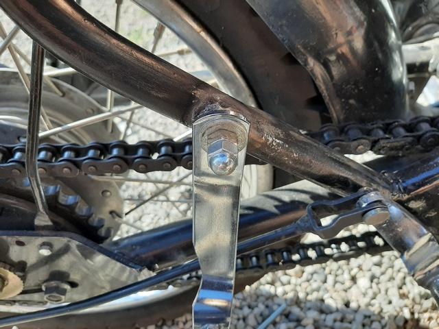 [RESOLU] Déplacer la pédale de frein arrière sur mon bobber+ commande reculée sélecteur tout le déroulé de la modiff....... 20200439