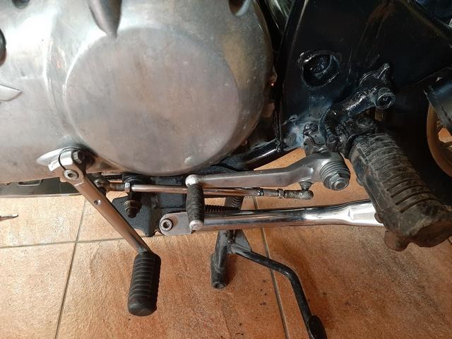[RESOLU] Déplacer la pédale de frein arrière sur mon bobber+ commande reculée sélecteur tout le déroulé de la modiff....... 20200450