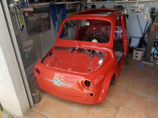 Ma petite 500 bi cylindres de 1965............ 20200520
