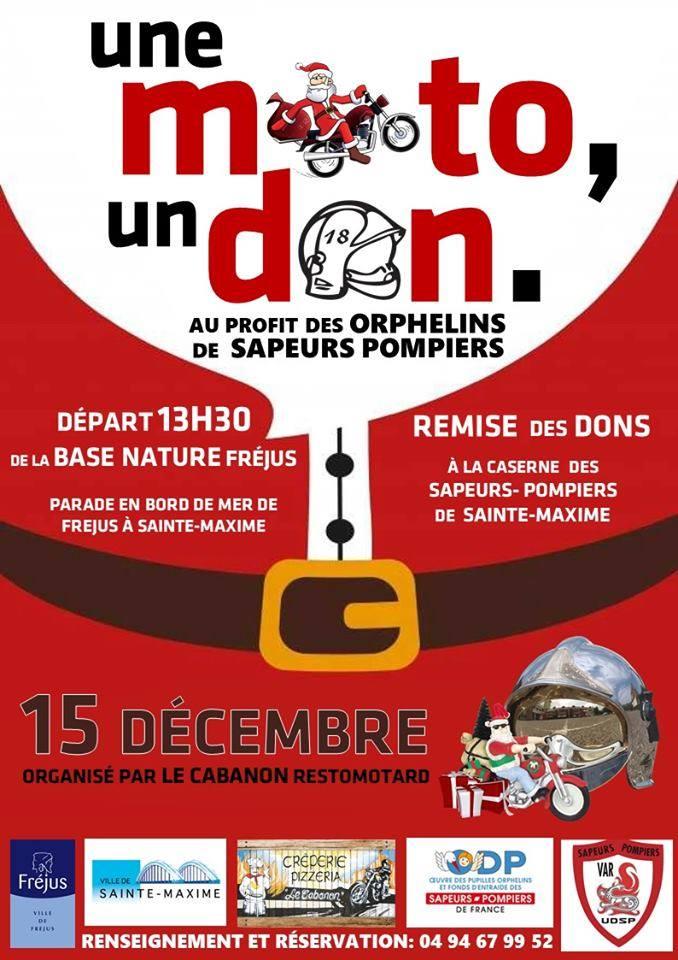 Une moto un don au profit des orphelins des Pompiers du Var 73513510