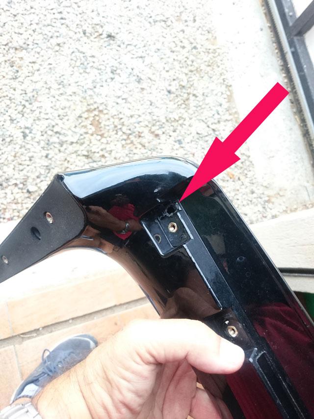 Les modifs sur mon 1500 SE, Leds,remplacement HP page 9, fabrication protections sacoches............... Dsc_6713