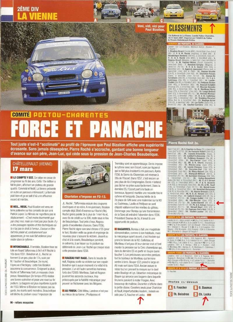 rallye de la vienne : on parle de nous.... Rallye10