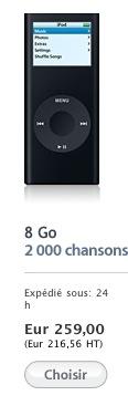 Vends Ipod Nano 4Go pas cher! Captur10