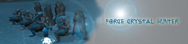 Force Crystal Hunter