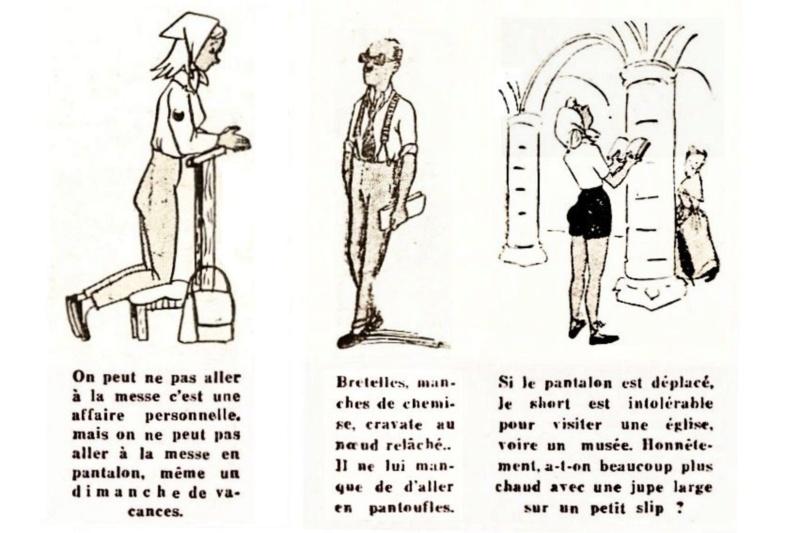 1955 : La bonne tenue en vacances E410