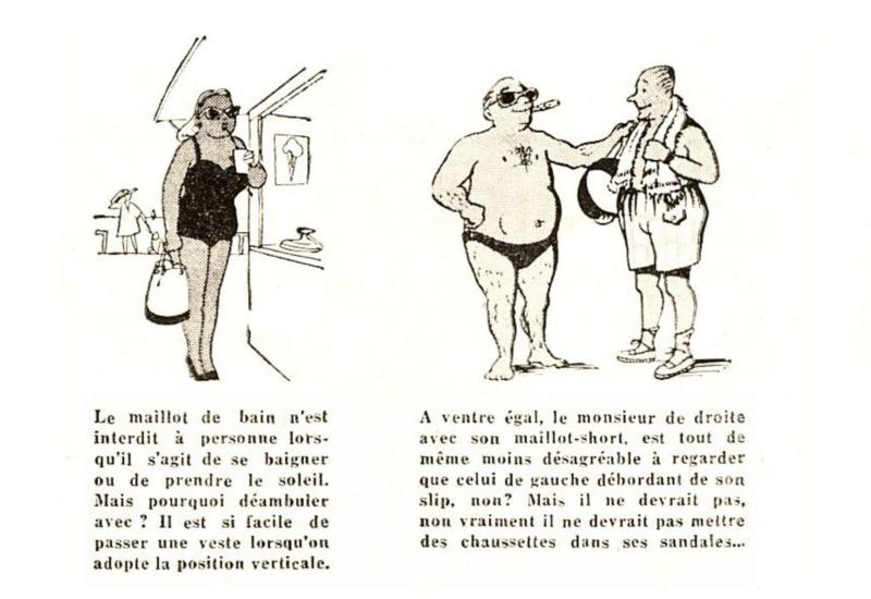 1955 : La bonne tenue en vacances E511