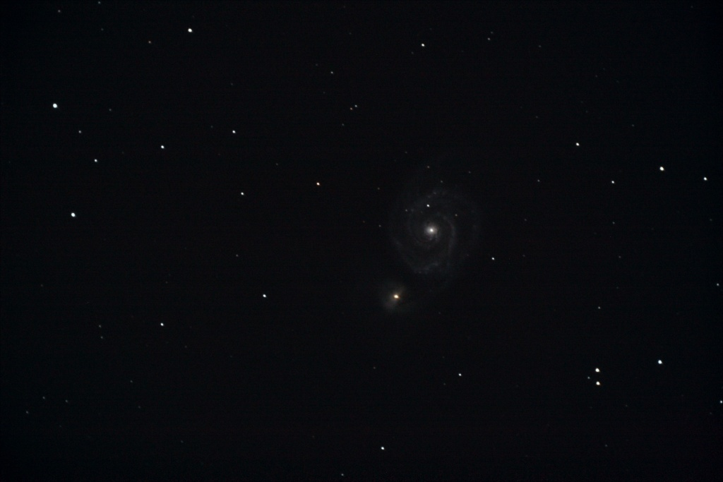 M51 - Whirlpool Galaxy - 21 Avril 2007 - My God !!! Galaxy11
