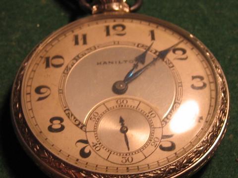 Les plus belles montres de gousset des membres du forum Hamilt10