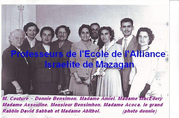 ECOLE DE L'ALLIANCE ISRAELITE DE MAZAGAN - EL-JADIDA Alluia10