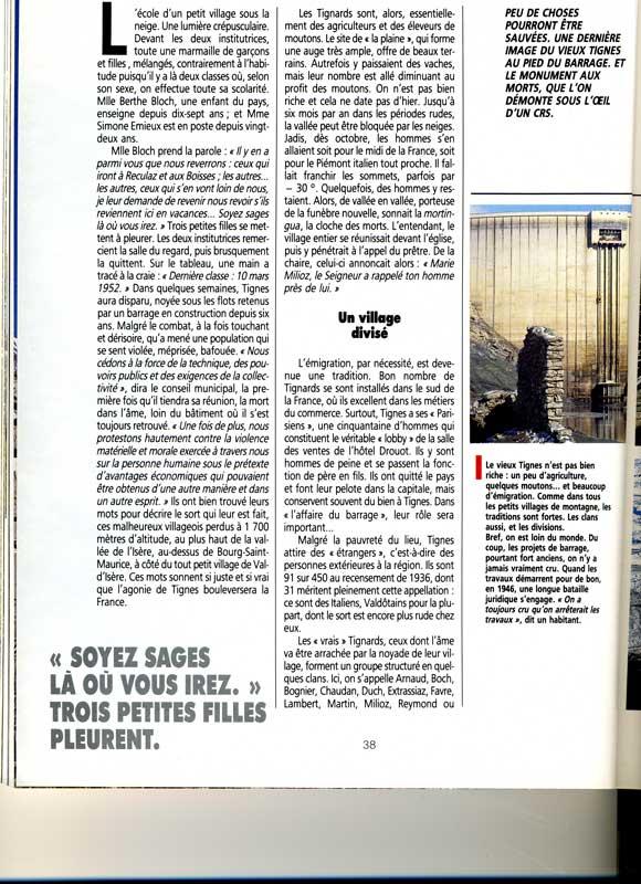 [Tignes] Le barrage de Tignes et les aménagements liés - Page 3 Alpesm12