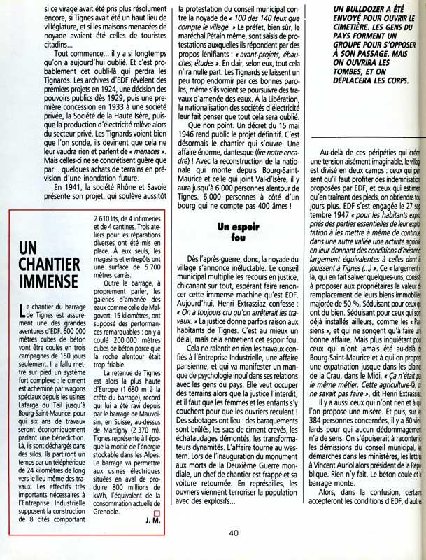 [Tignes] Le barrage de Tignes et les aménagements liés - Page 3 Alpesm14