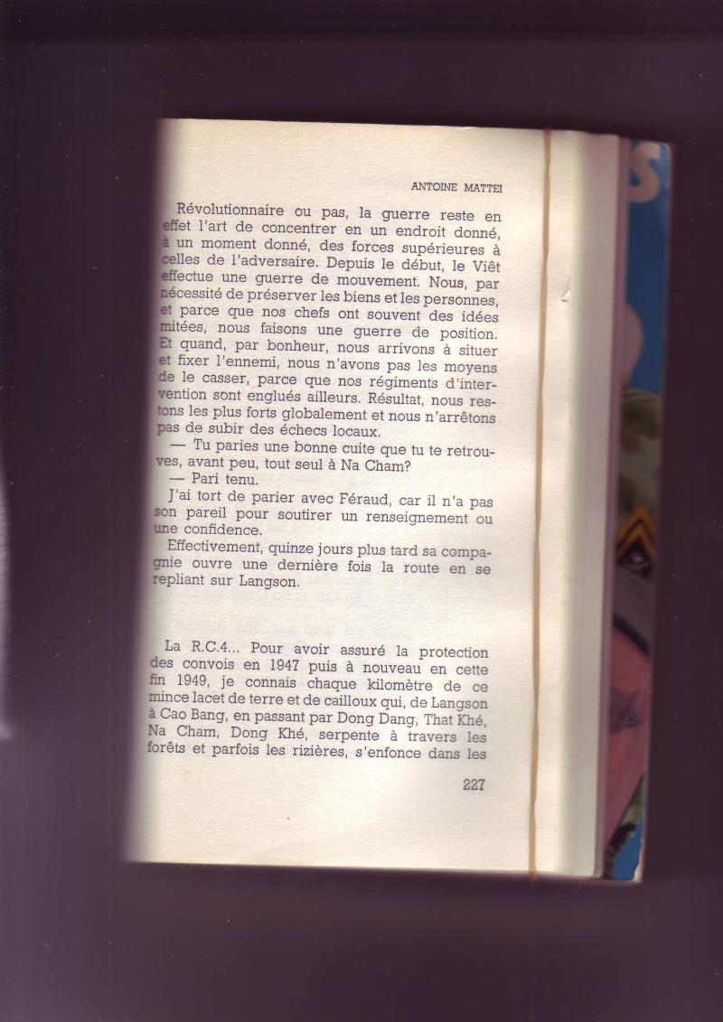 """Mémoire du Lt-Colonel MATTEI """" Tu survivras Longtemp"""" - Page 3 Image087"""