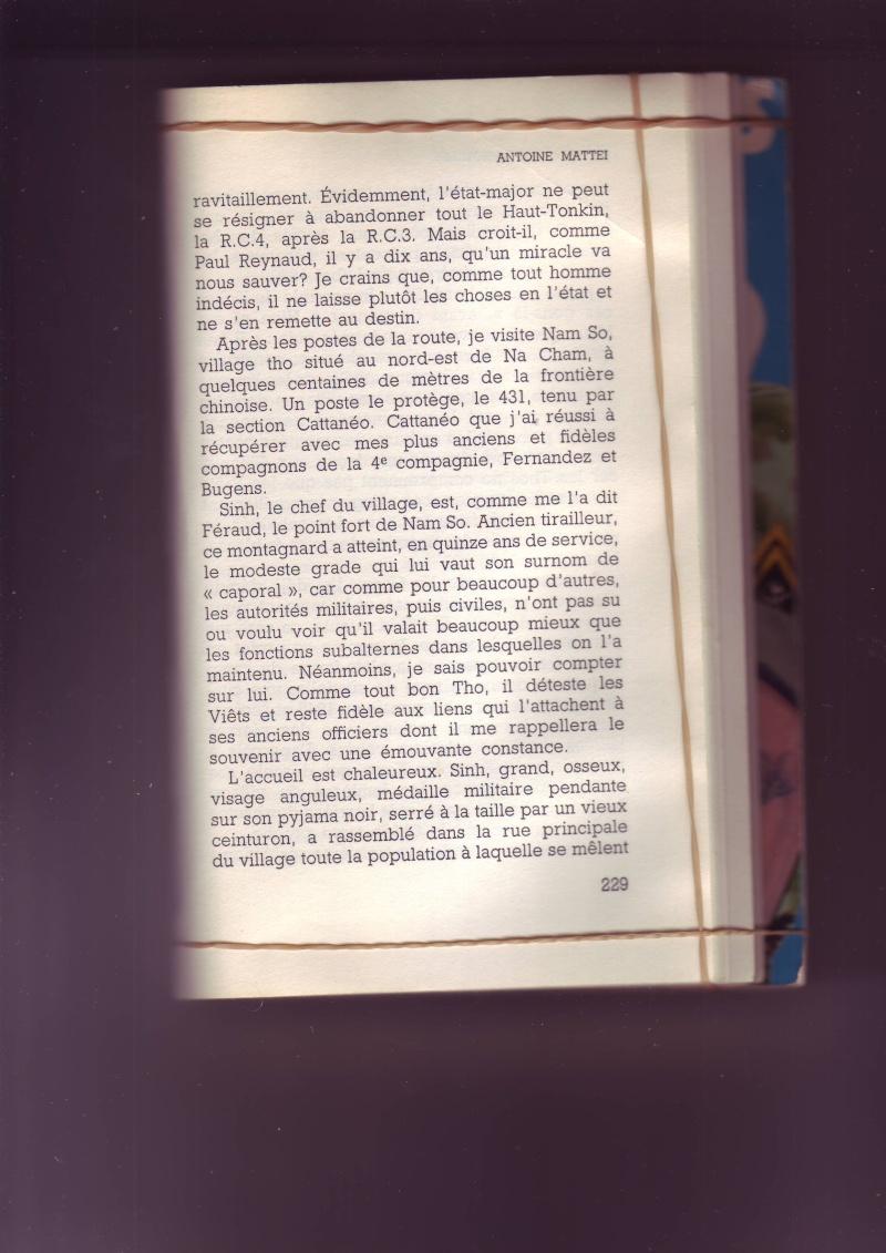 """Mémoire du Lt-Colonel MATTEI """" Tu survivras Longtemp"""" - Page 3 Image089"""