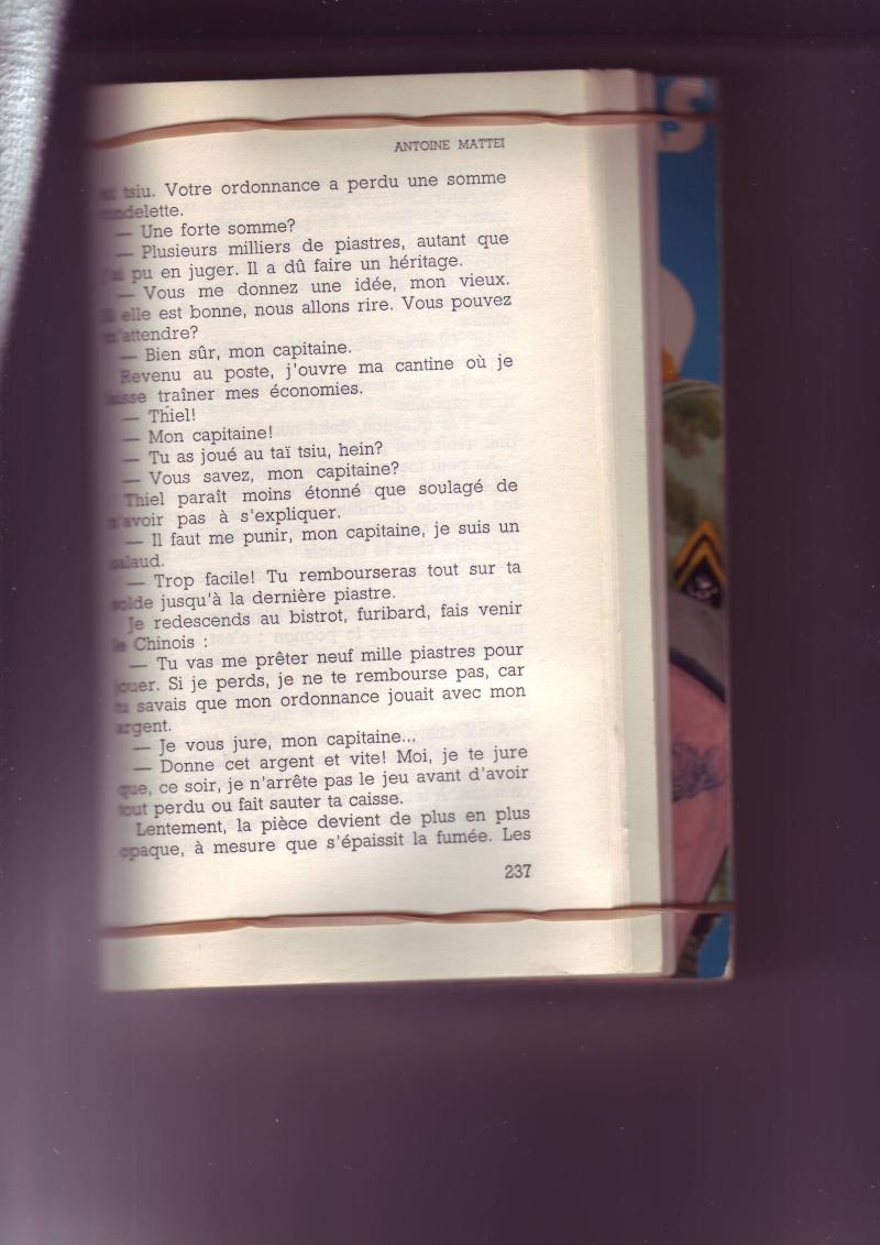 """Mémoire du Lt-Colonel MATTEI """" Tu survivras Longtemp"""" - Page 3 Image097"""