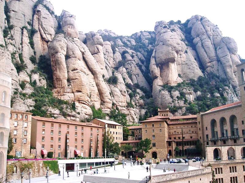 Monastère de MONTSERRAT, Catalogne, ESPAGNE Aa2810