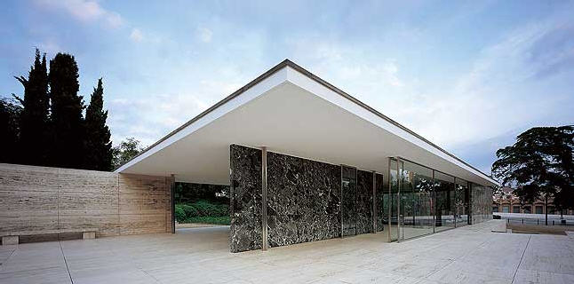 rohe - Pavillon Mies Van der Rohe, Barcelone - Espagne Aaa10