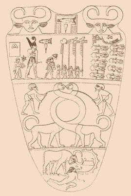 La palette de Narmer Narmer11