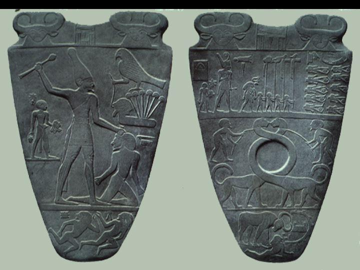 La palette de Narmer Slide210