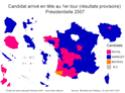 Elections présidentielles françaises de 2007 Carte_15