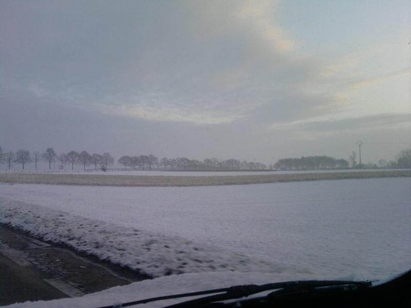 De la neige pour les prochains jours et durant cet hiver. P0401112