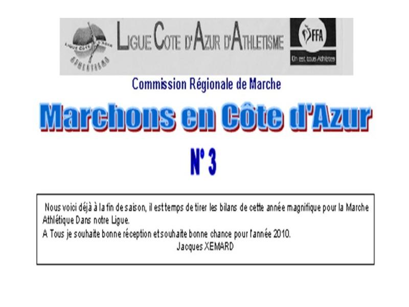 Marchons en cote D'azur n°3 Titre_10