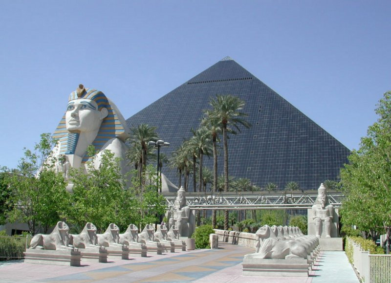 Luxor, Mandalay Bay & MGM Grand à Las Vegas, Nevada - Etats-Unis Luxor10