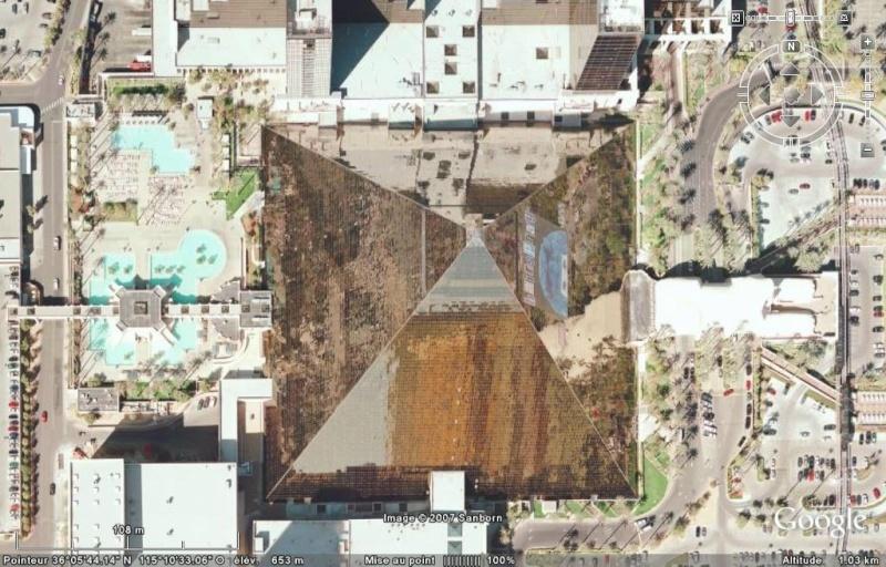 Luxor, Mandalay Bay & MGM Grand à Las Vegas, Nevada - Etats-Unis Luxor110