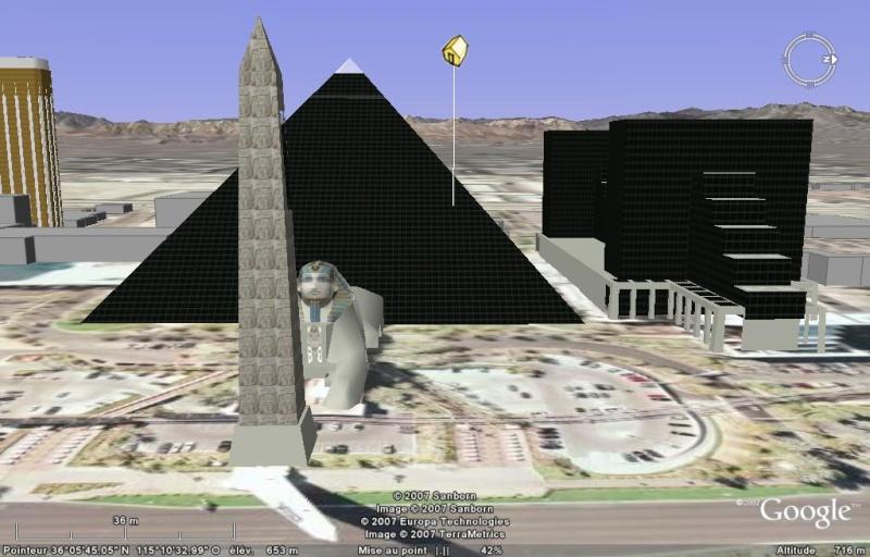 Luxor, Mandalay Bay & MGM Grand à Las Vegas, Nevada - Etats-Unis Luxor210