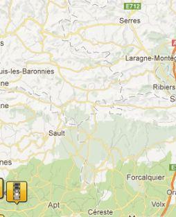 carte des radars par région Captur10