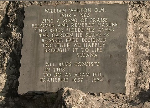 William WALTON (1902-1983) Plaque11