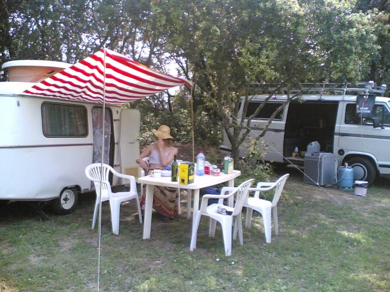 La Puck en camping sauvage 28042010
