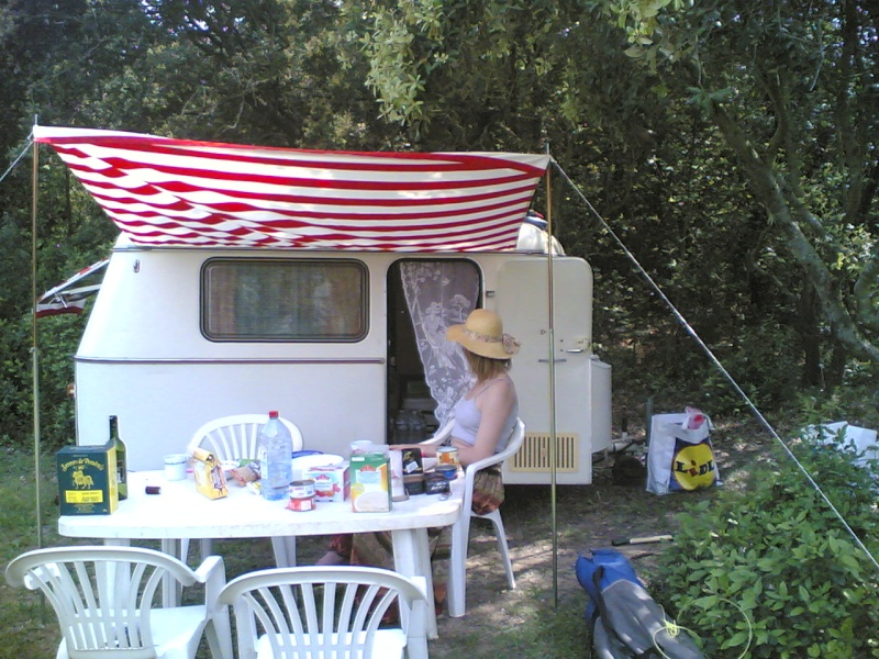 La Puck en camping sauvage 28042011