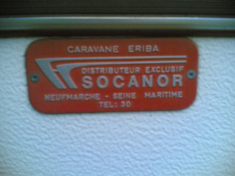 Plaque constructeur Eriba / Hymer [Post Photos] Plaque10