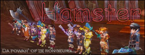 Forum de la guilde Hamster sur Flyff