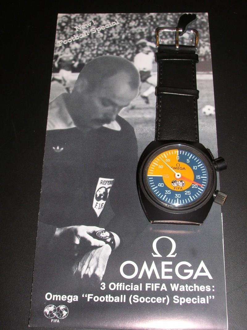 "OMEGA ""FIFA"" FOOTBALL SOCCER SPECIAL CHRONOGRAPH A10"