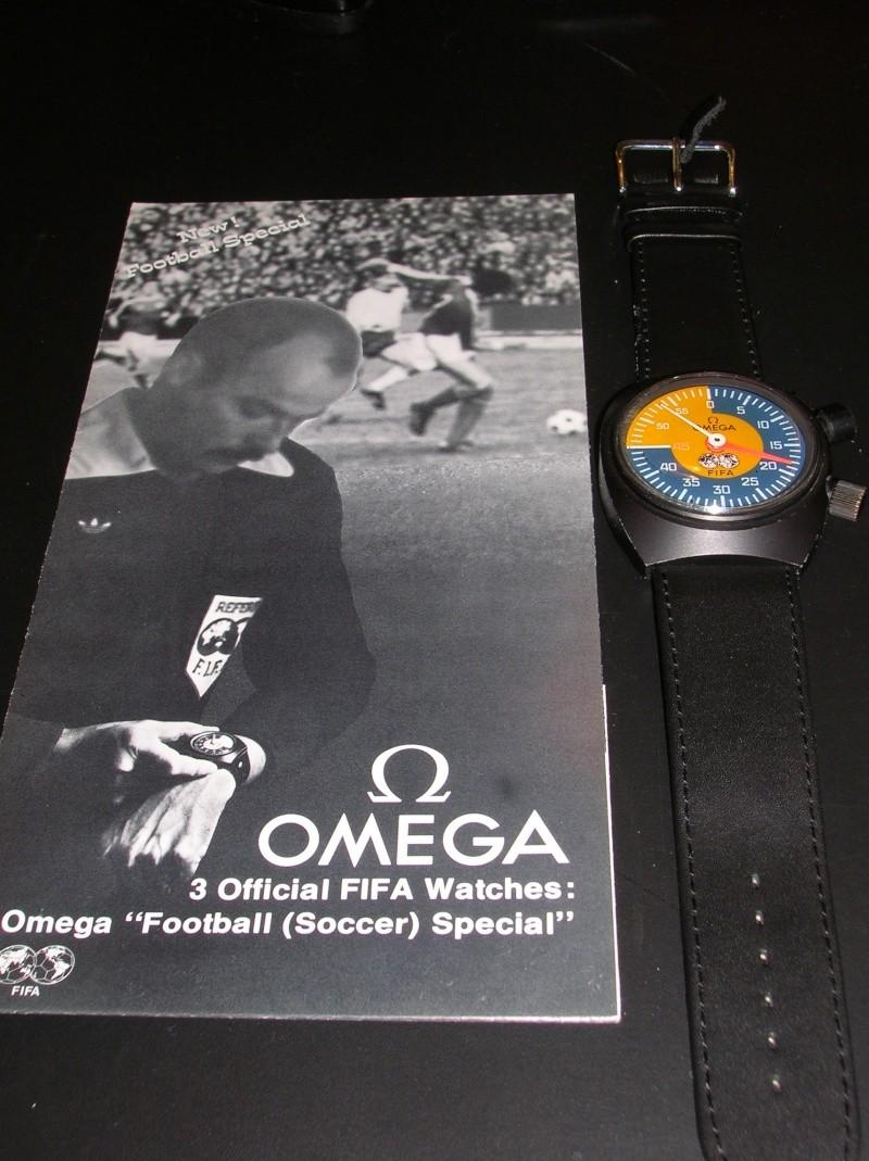 "OMEGA ""FIFA"" FOOTBALL SOCCER SPECIAL CHRONOGRAPH C10"