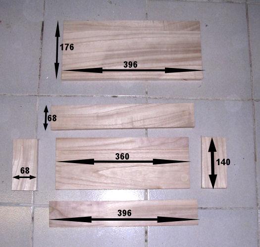 fabrication d'un coffret pour revolver 0410