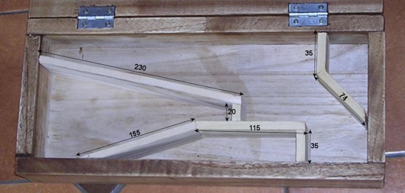 fabrication d'un coffret pour revolver 1310