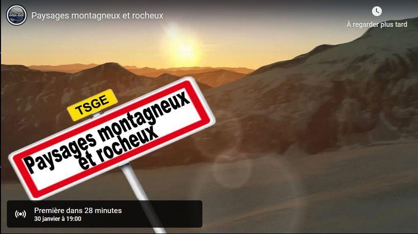 Paysages montagneux et rocheux (Vidéo en HD)   - Page 2 Tsge1022