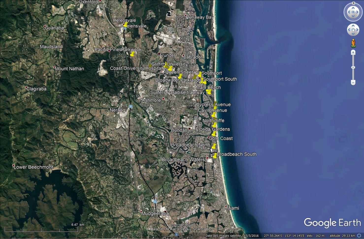RideTheG - Le direct pour les plages de la Gold Coast Tsge1384