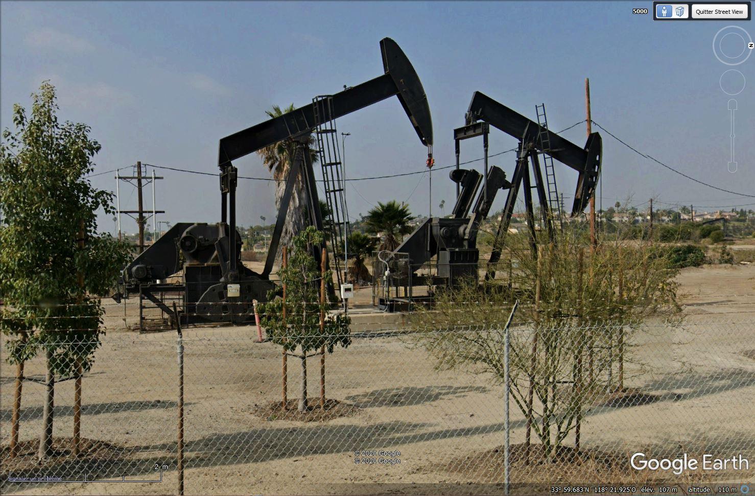 Puits de pétrole à Los Angeles, Californie - USA Tsge1510