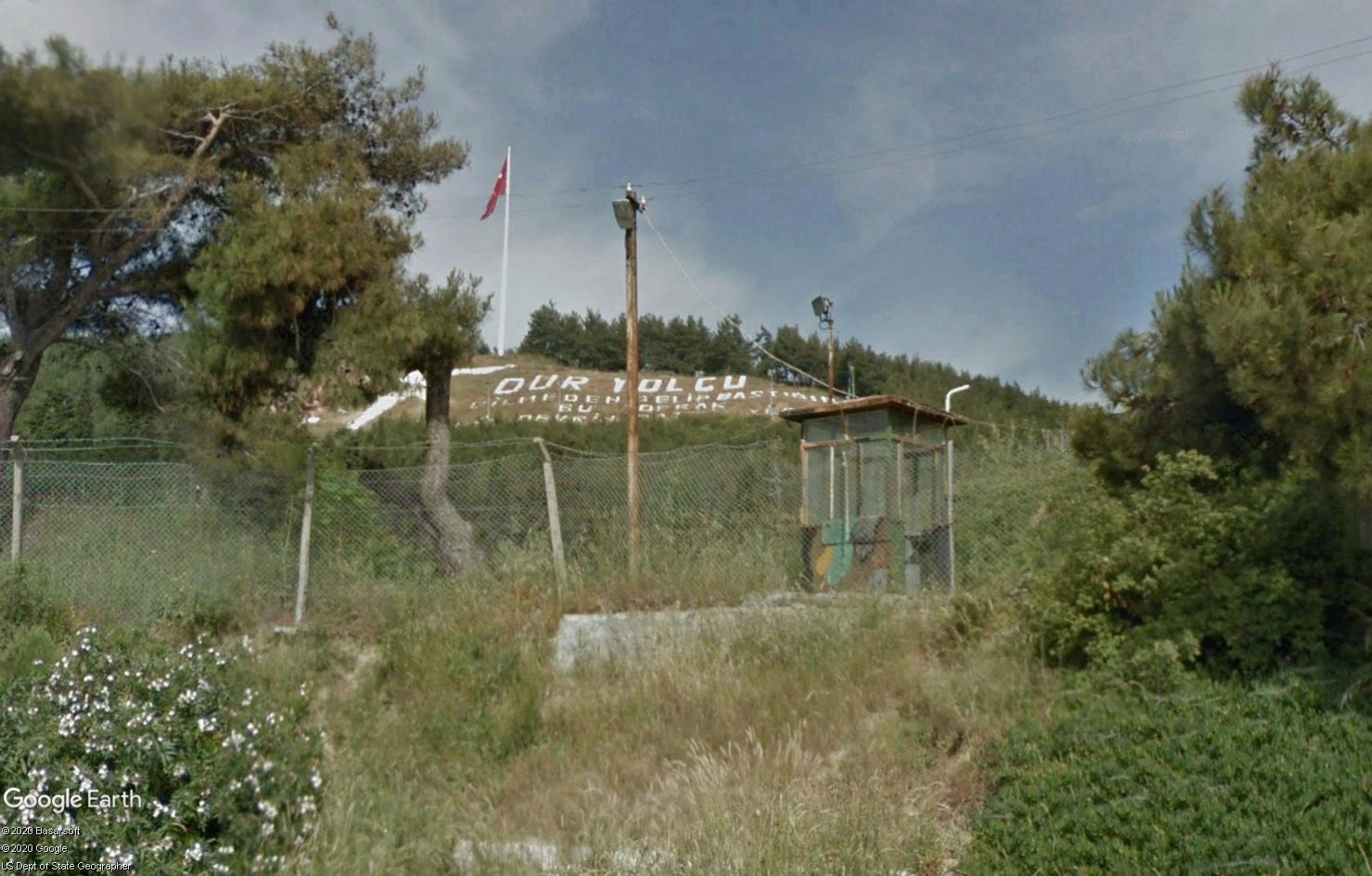 The Dur Yolcu Memorial - Kilitbahir - Turquie Tsge1588