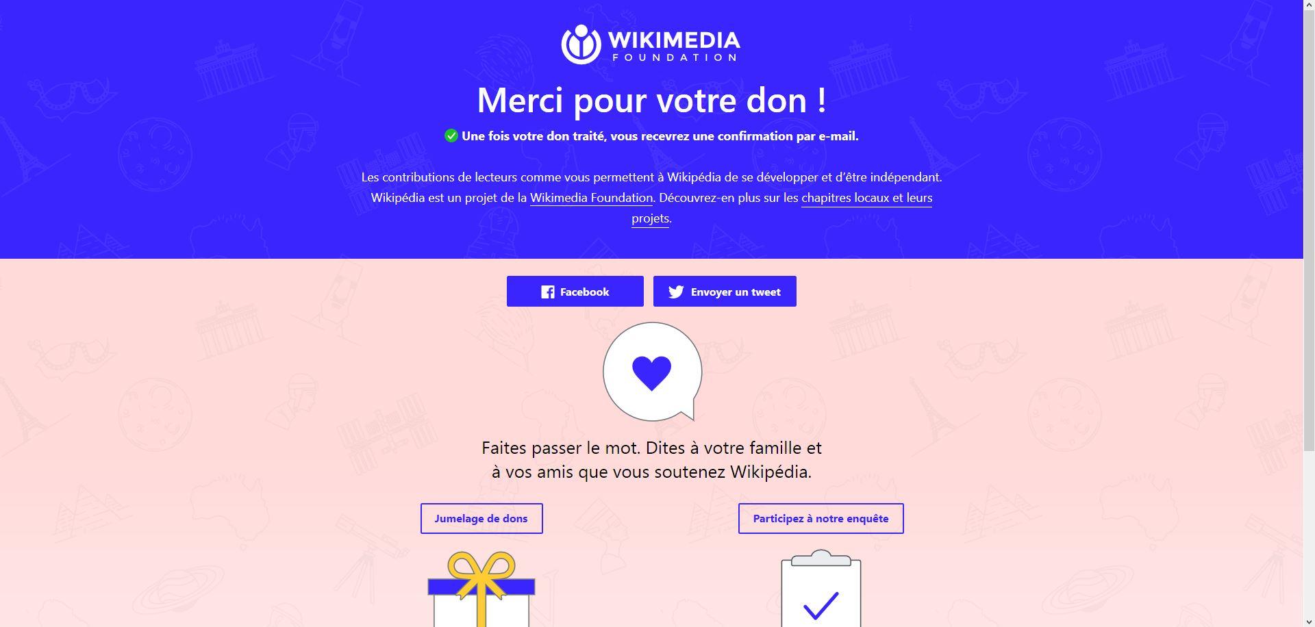 Soutien financier à Wikipedia [Le village de TSGE] Tsge1691