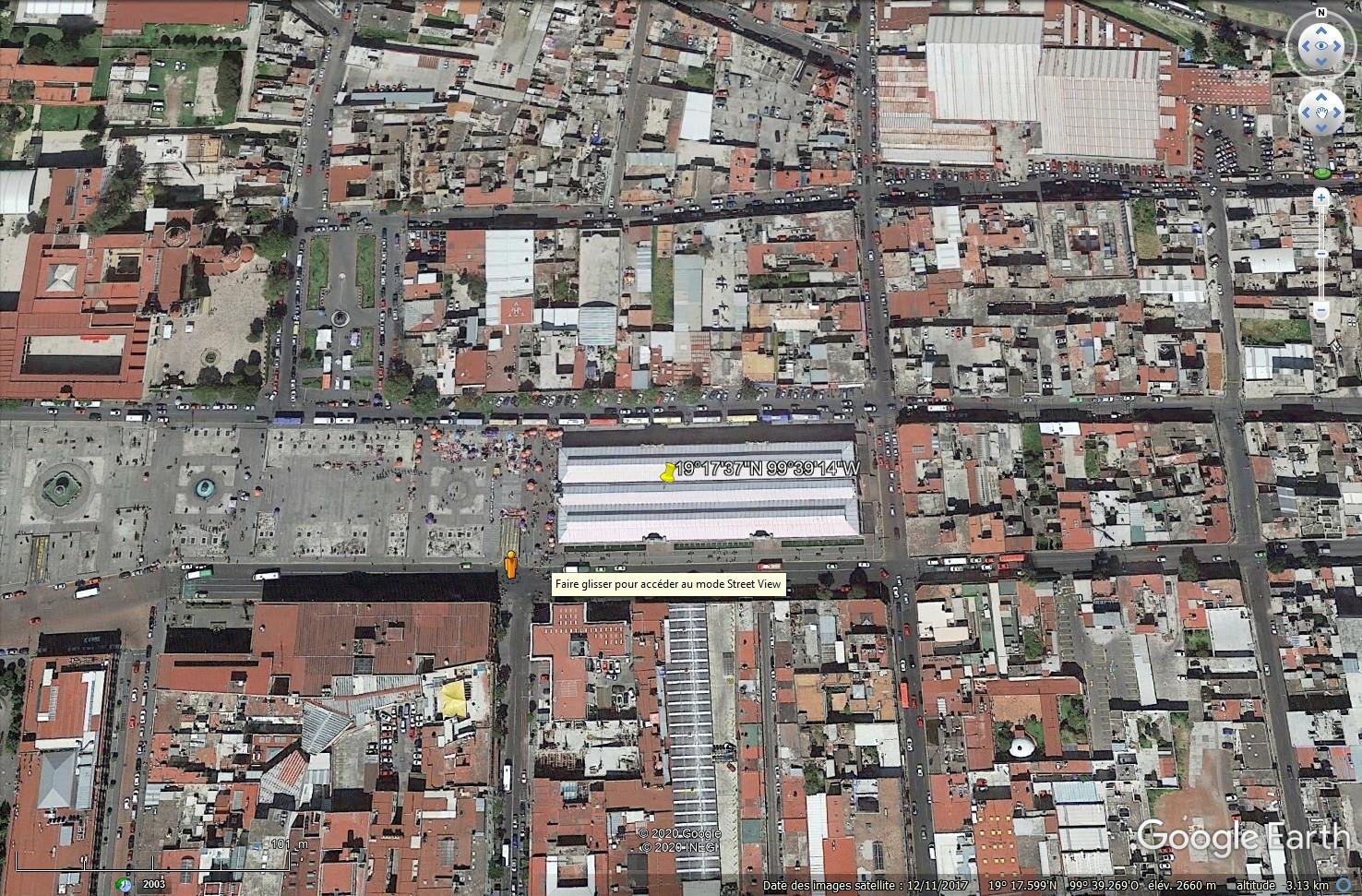 [résolu] Street View ne s'affiche plus dans Google Earth Tsge1721