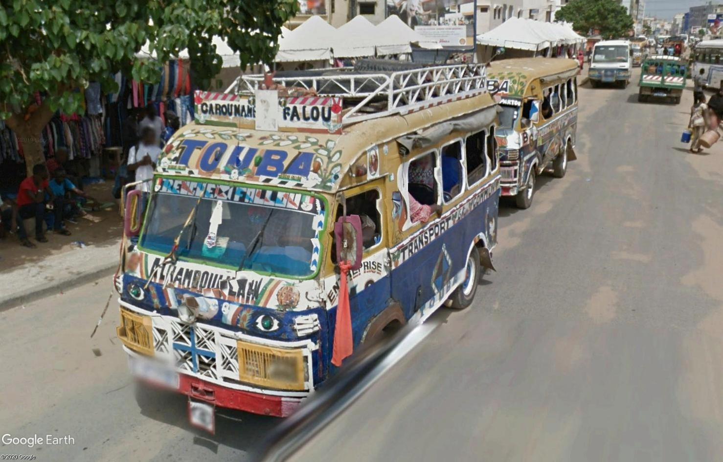 STREET VIEW : cars rapides et transports en commun du Sénégal Tsge1794