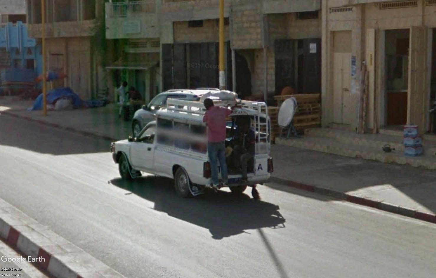 STREET VIEW : cars rapides et transports en commun du Sénégal Tsge1818
