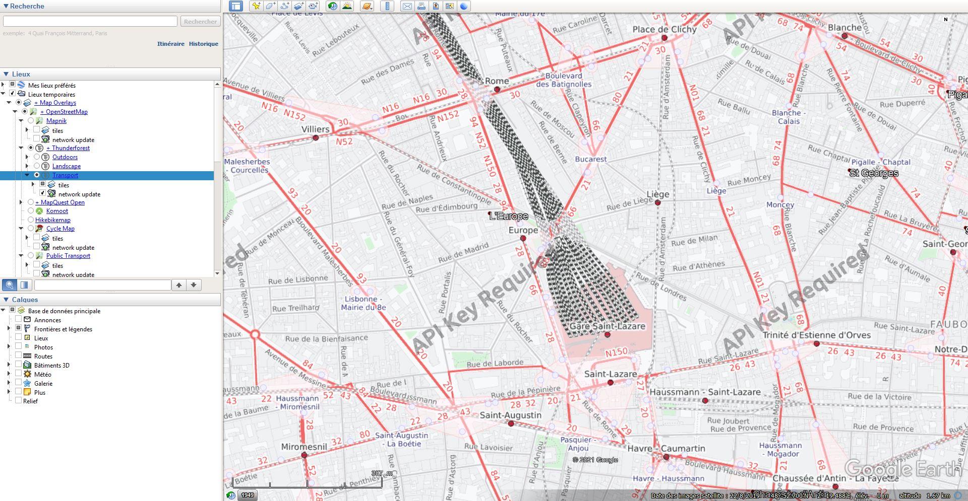 Les chemins de fer en Europe : toutes les gares [fichier KML pour Google Earth] Tsge1975