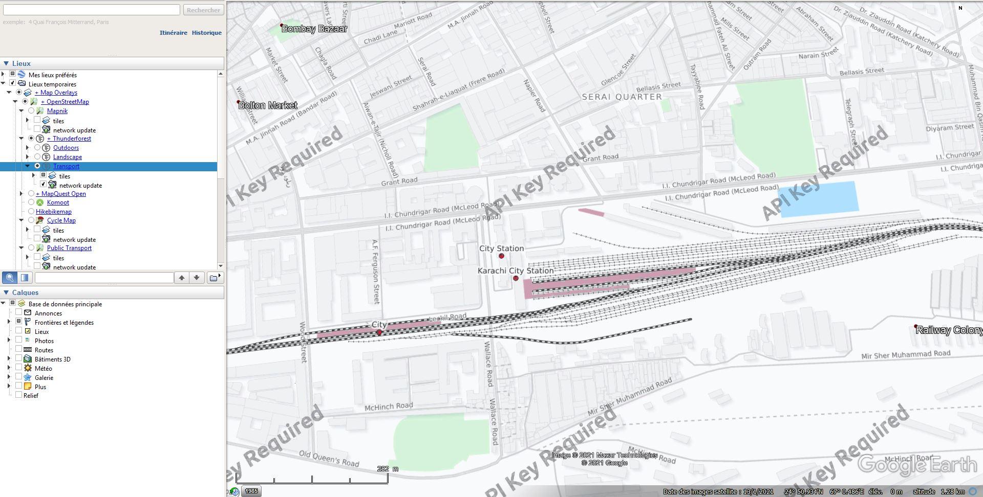 Les chemins de fer en Europe : toutes les gares [fichier KML pour Google Earth] Tsge1976