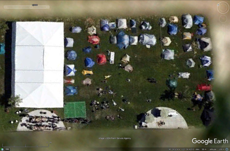 Camping de Santa Rosa, Californie - USA Tsge1996